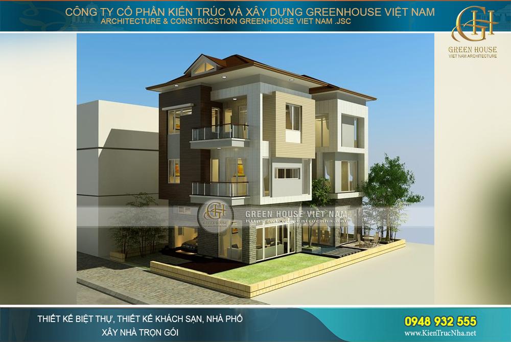 Tư vấn thiết kế biệt thự hiện đại sang trọng với diện tích 250m2