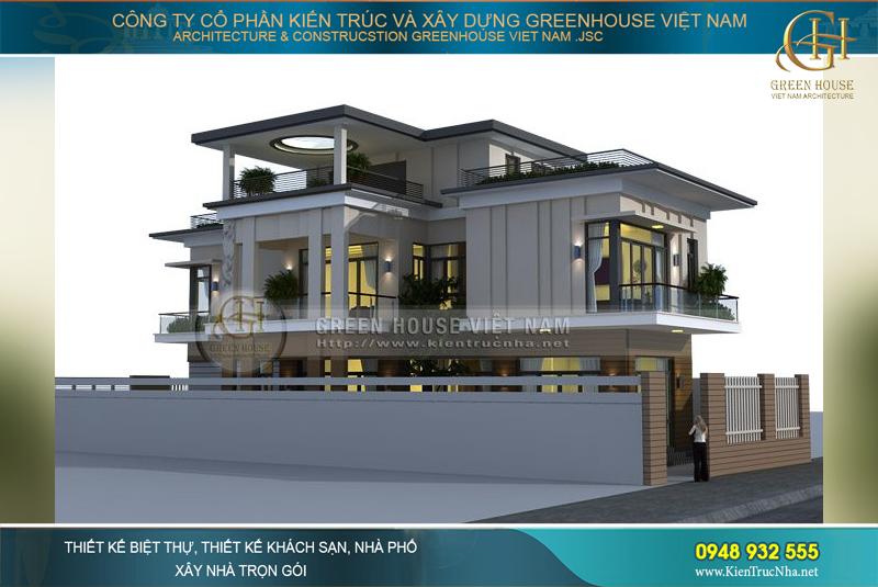 Thiết kế sang trọng, đẳng cấp của ngôi biệt thự hiện đại sở hữu diện tích rộng 250m2