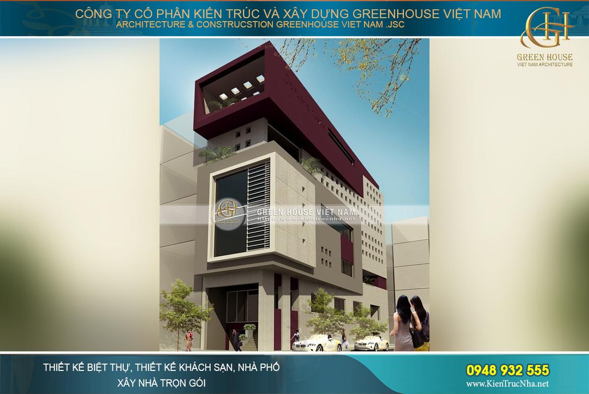 Kiến trúc độc đáo và sáng tạo mang tính thời thượng của ngôi nhà ống 5 tầng