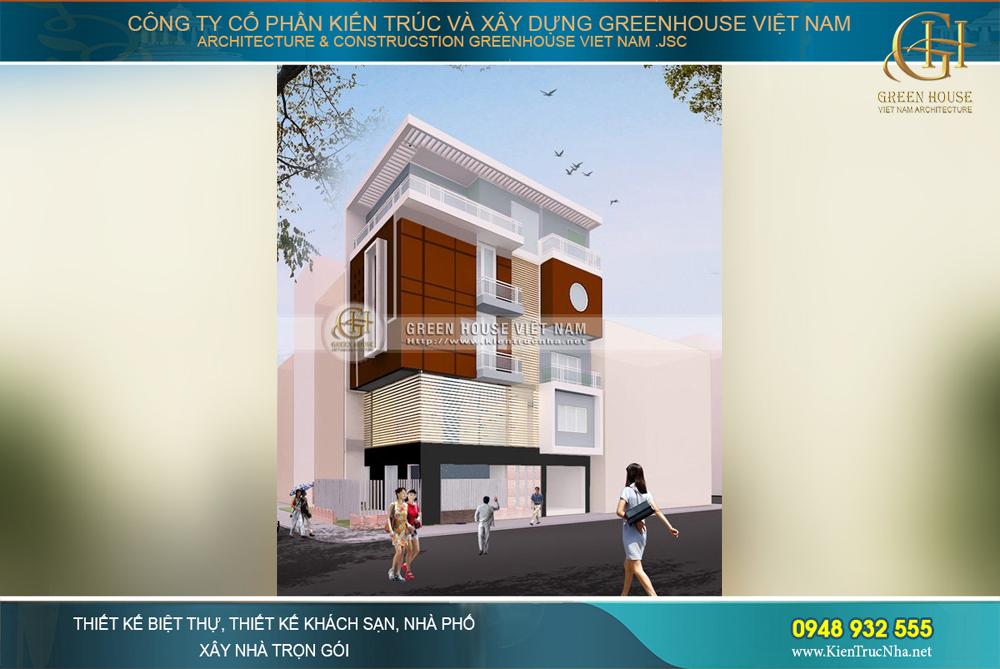 Gợi ý những mẫu thiết kế nhà phố hiện đại đẹp ấn tượng tại Thái Nguyên