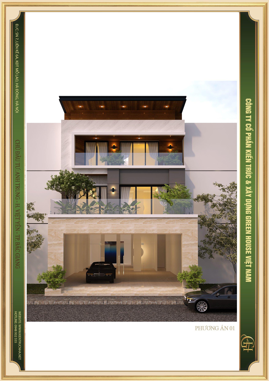 KTS Green House Việt Nam phô bày vẻ đẹp kiến trúc khỏe khoắn, nét đẹp hiện đại và thời thượng của ngôi biệt thự 3 tầng