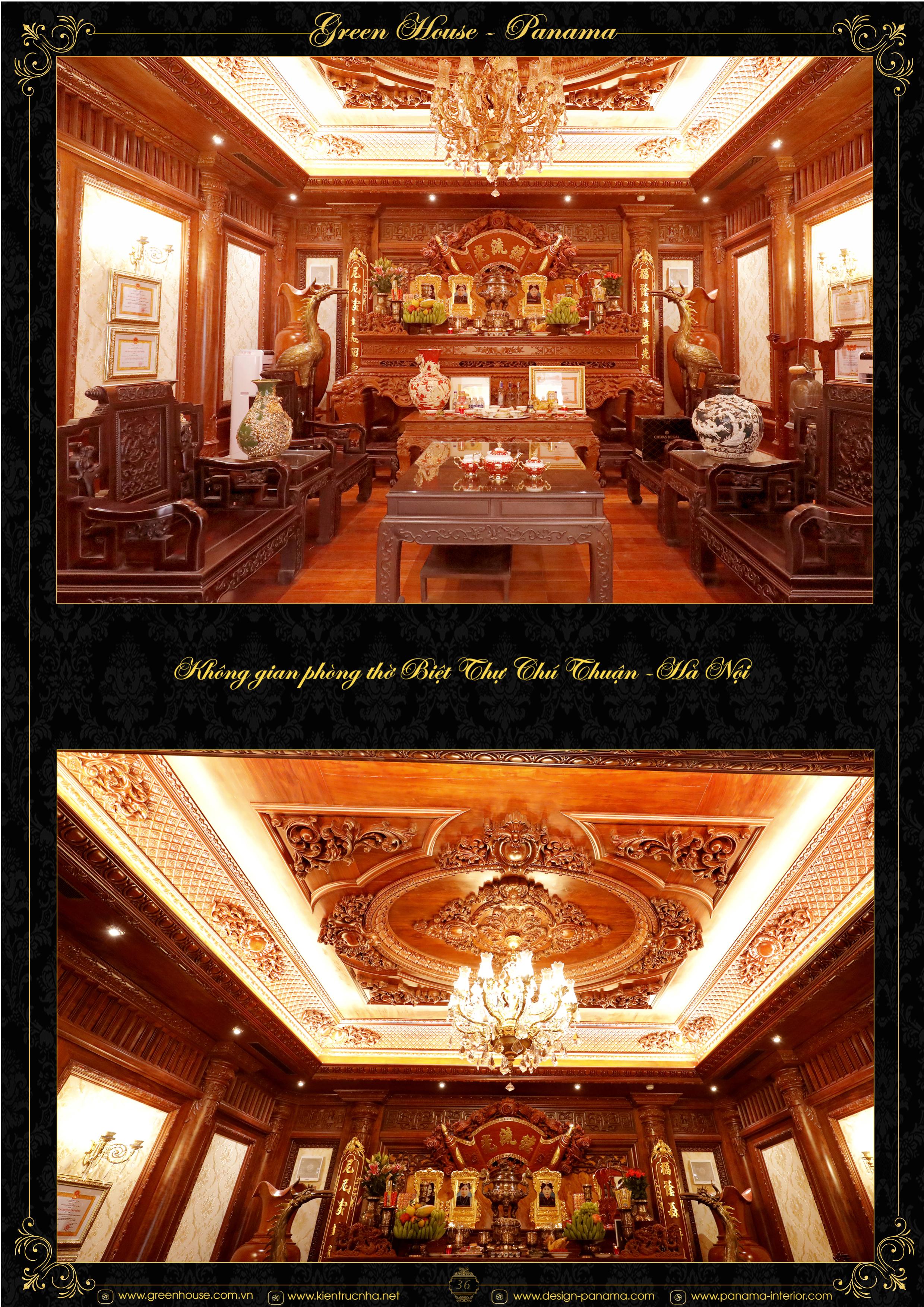 Dự án thiết kế biệt thự Chú Thuận tại Hà Nội