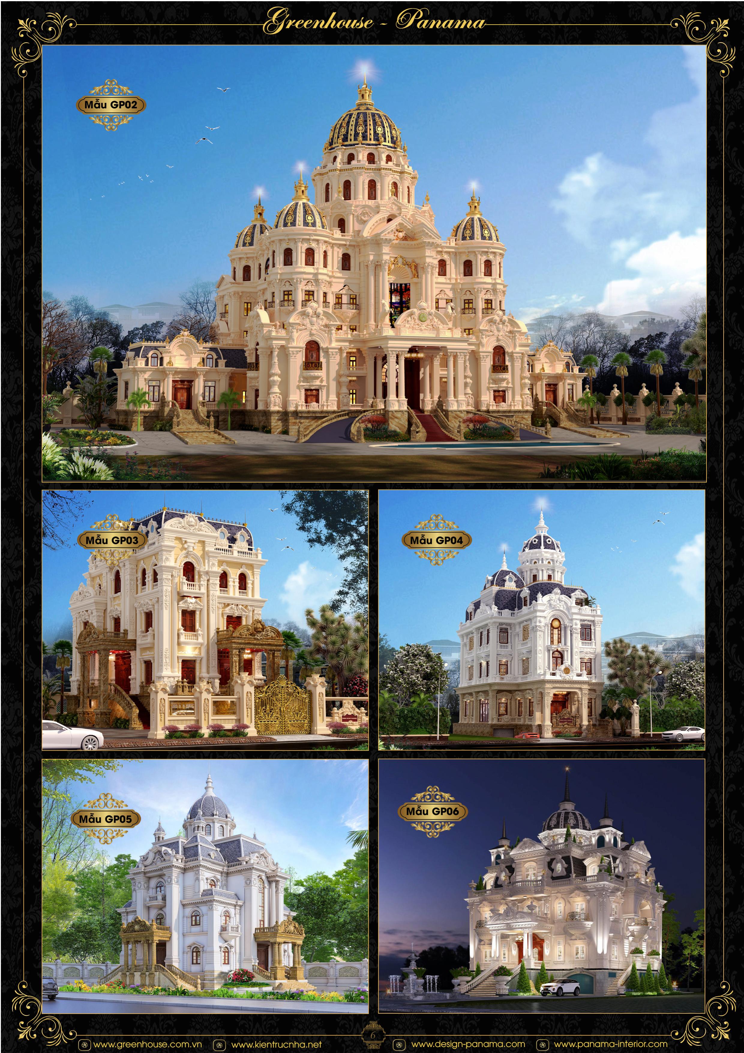 Những mẫu thiết kế dinh thự mang đẳng cấp châu Âu