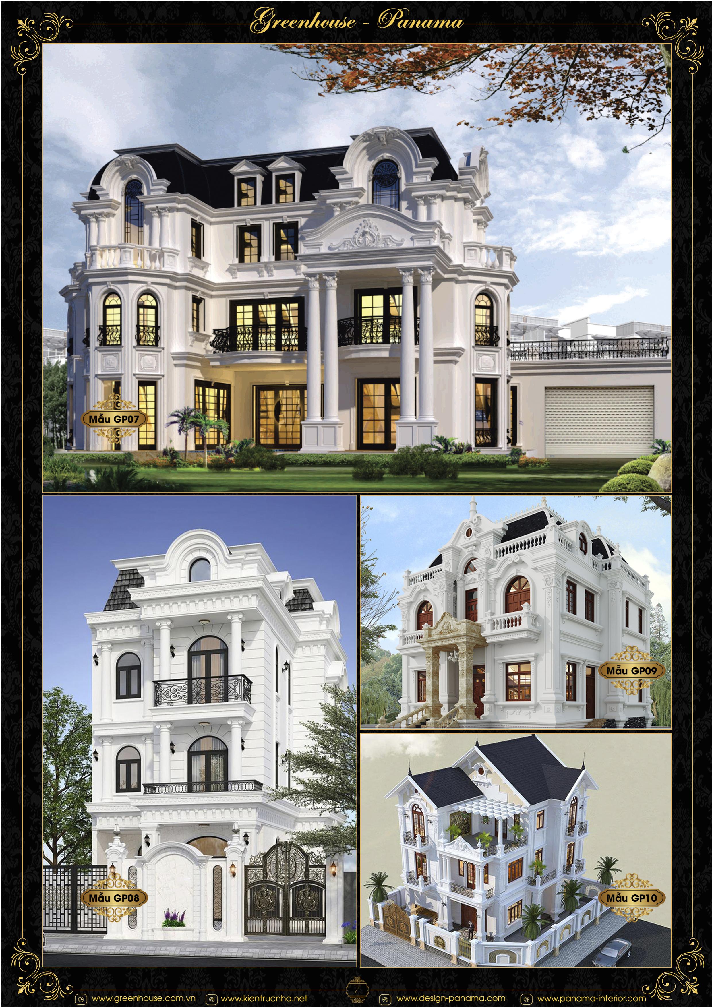 Mẫu thiết kế biệt thự tân cổ điển đẹp trường tồn với thời gian