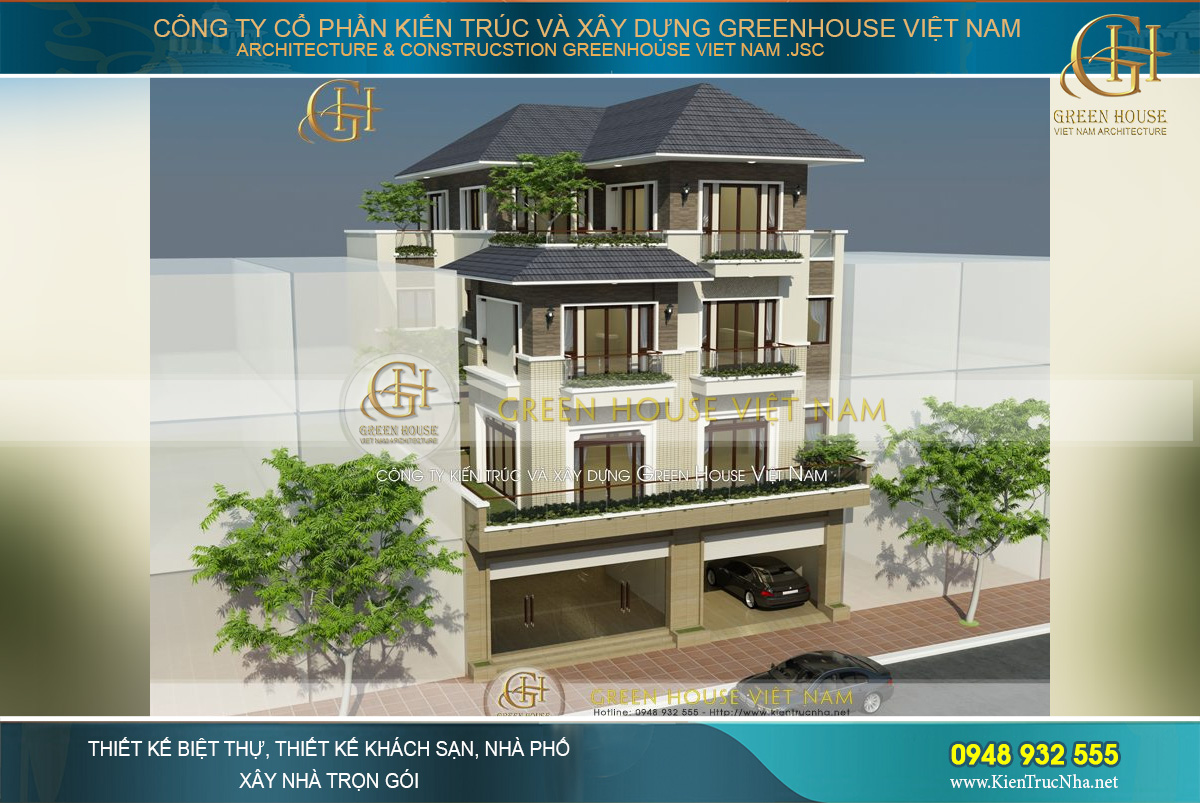 Green House Việt Nam mang tới cho khách hàng những công trình nhà phố chất lượng hàng đầu