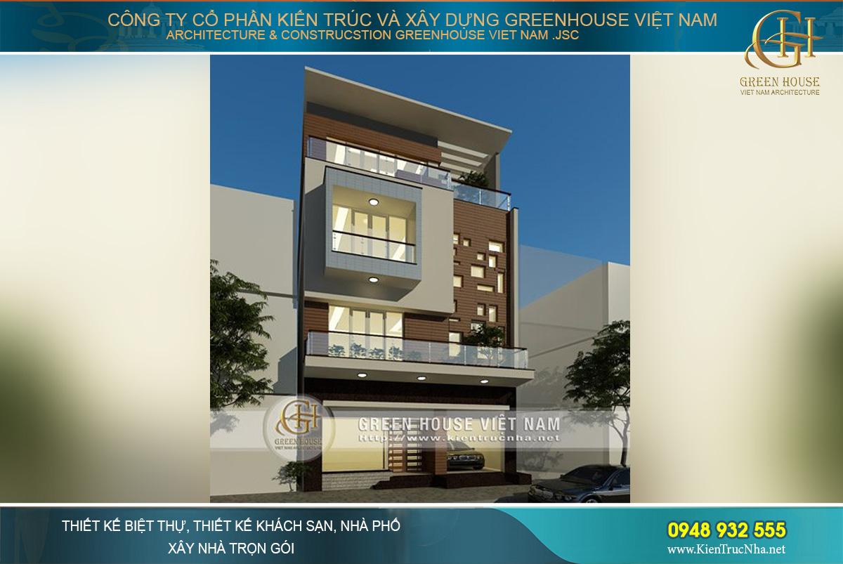 Sở hữu 02 lô đất, ngôi nhà phố 4 tầng của chủ đầu tư với mặt tiền lớn, thoải mái trong diện tích sử dụng