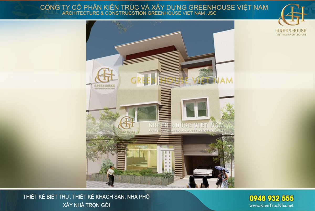Tuyển chọn mẫu thiết kế nhà phố hiện đại 4 tầng đẹp tiêu biểu năm 2021