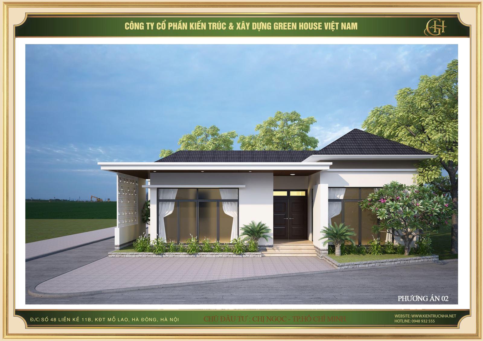 Green House Việt Nam mang tới cho khách hàng những công trình biệt thự hiện đại chất lượng hàng đầu