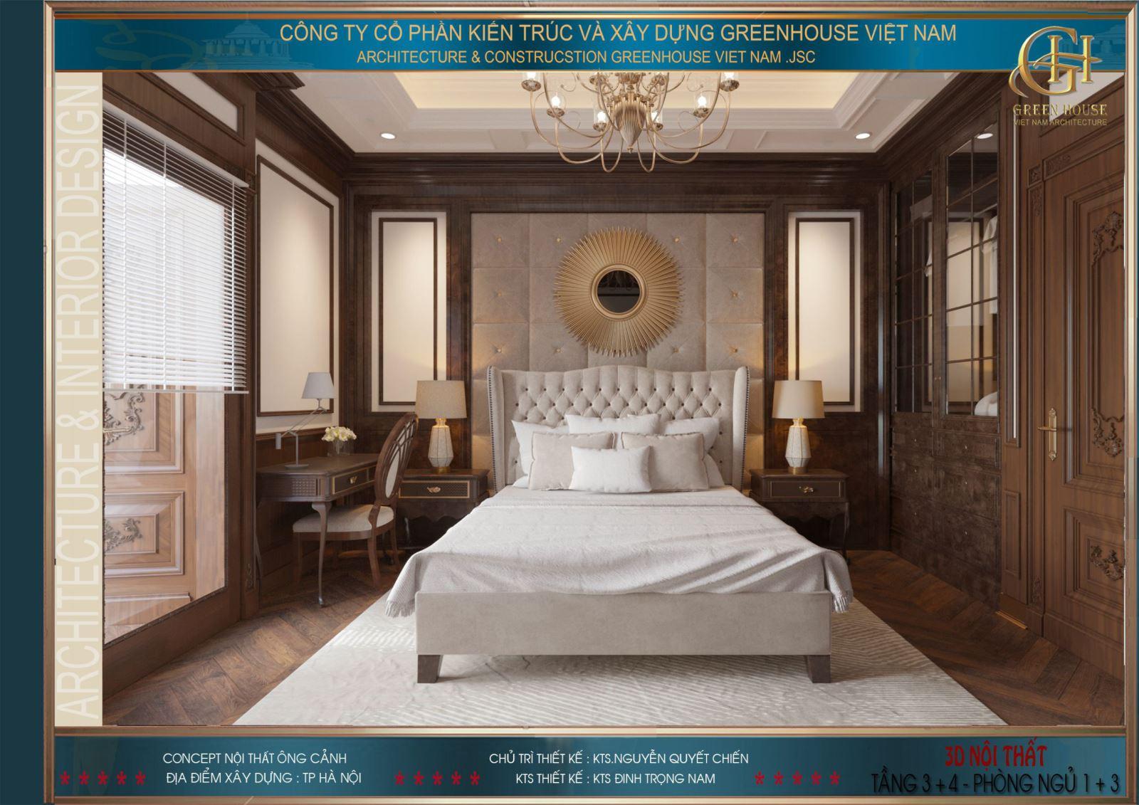 Phòng ngủ hình vuông hoặc hình chữ nhật được cho là tốt nhất, giúp đem lại cảm giác an toàn