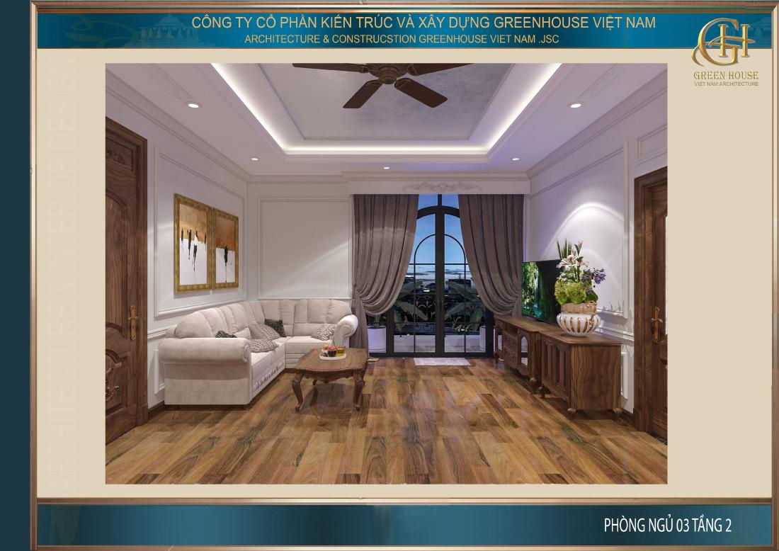 Đồ nội thất trong phòng không nhiều nhưng đầy đủ để đáp ứng nhu cầu sử dụng