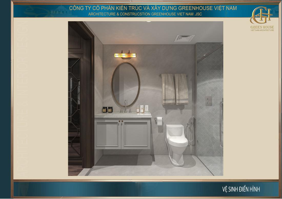 Phòng vệ sinh của phòng ngủ master
