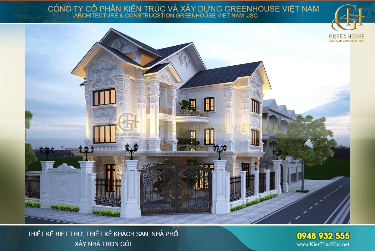 Chẳng lo phí nhà đẹp như ý cùng thiết kế nhà đẹp Green House Việt Nam