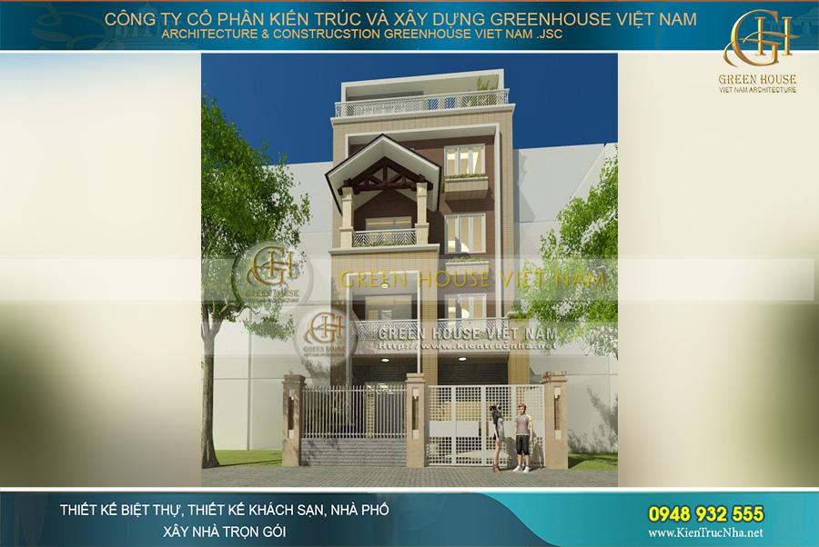 Không gian nhà phố hiện đại với kiến trúc khỏe khoắn, đường nét thiết kế sắc cạnh, ấn tượng