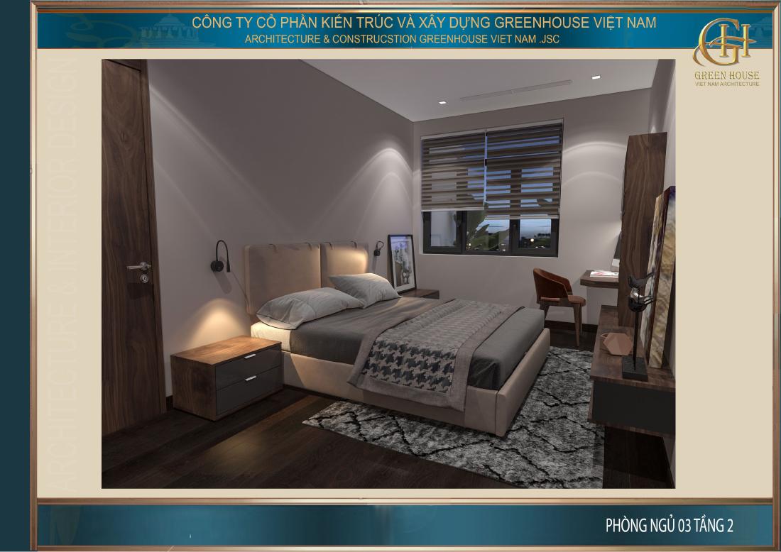 Phòng ngủ của các con được thiết kế với nhiều nét tương đồng