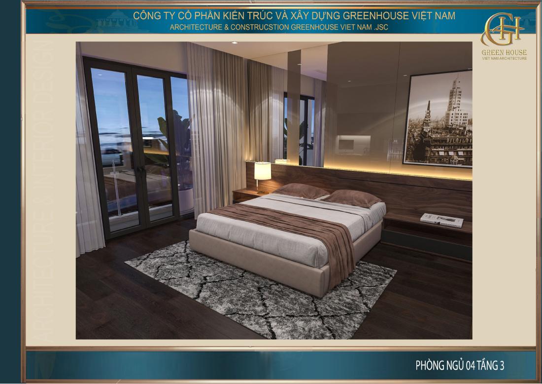 Phòng ngủ với vẻ đẹp cá tính mang phong cách hiện đại và trẻ trung