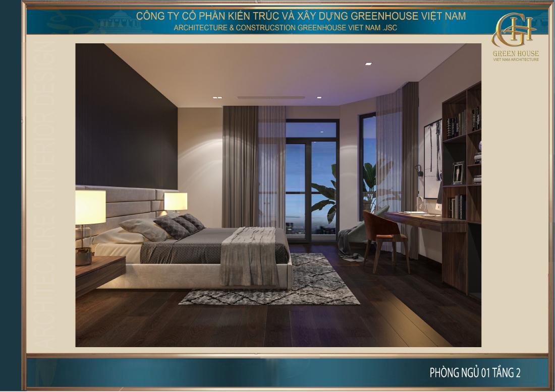 Thiết kế phòng ngủ sang trọng dù không cần quá nhiều đồ nội thất cầu kỳ